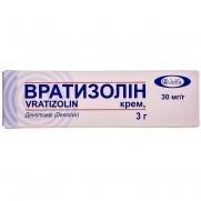 Vratizolin (denotivir) cream 30 mg/g tube 3 g Вратизолин