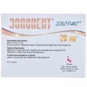 ZOLOPANT 14 tablets 20mg pantоprazole Золопент