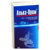 Alka Prim 10 effervescent tablets Acetylsalicylic acid Hangover effect Алька-прим