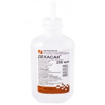 Decasan Dekasan solution Decametoxinum 0,2 mg / ml bottle 250ml ДЕКАСАН
