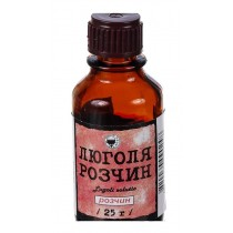 Lugol solution with Clycerin 25ml Sore throat Lugoli solutio Fito & Terno & Zhitomir Люголь