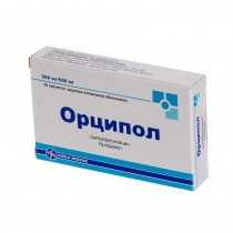 ORCIPOL 10 tablets COMB DRUG Орципол