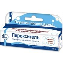 Peroxygel Peroxigel 15g 3% Hydrogenii peroxidum Anti Infections Пероксигель
